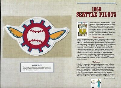 1969 Seattle Pilots Willabee & Ward U.s Cooperstown Sammlung Baseball & Softball