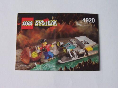 Instruction Nr LEGO® Bauanleitung 4920