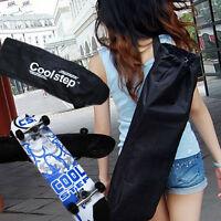 Waterproof 34 X 11 Skateboard Longboard Carrying Bag Bagpack With Strap Black