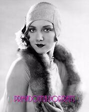 BILLIE DOVE 8X10 Lab Photo B&W 1930s Fur Coat Glamour Portrait, Young Elegant