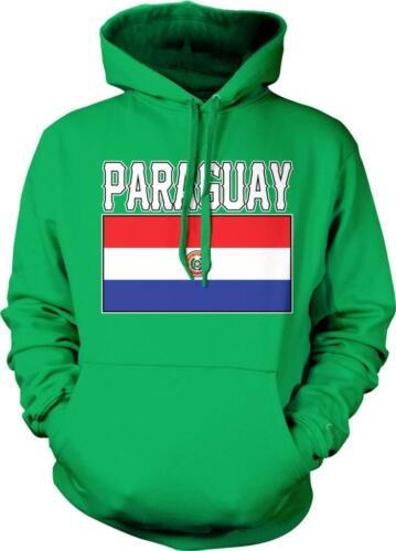 Paraguay Flag Bandera Paraguayan Pride Orgullo Catracho Hoodie Pullover