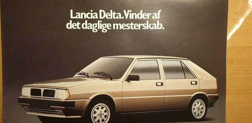 Brochure, Lancia Delta
