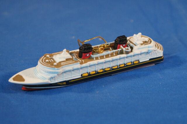 disney cruise line dream resin christmas ornament ship figurine aquaduck