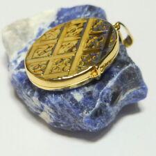 8K 333er Anhänger Foto Bild Medaillon Amulett Oval echt Gold für 2 Bilder