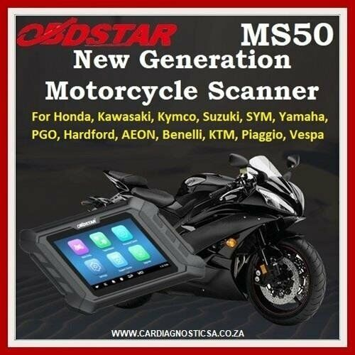 OBDSTAR MS50 Motorcycle Diagnostic Tool ON SPECIAL!!