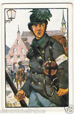 Soldier Hunter Österreich-Ungarn 1864 Austria-Hungary Uniform IMAGE CARD 30s