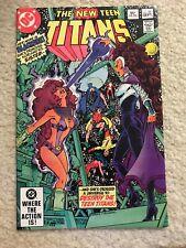 The New Teen Titans Comic Book #23 DC 1st Black Fire 1982 VFN//NEAR MINT UNREAD