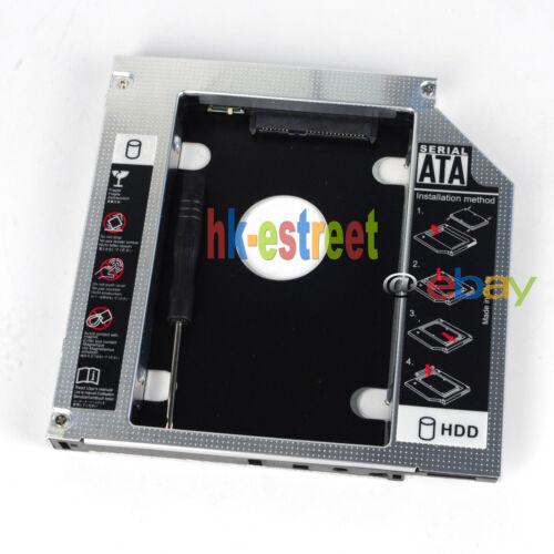 New 2nd Hard Drive HDD SSD Caddy for Lenovo IdeaPad Y450 Y460 Y530 Y560