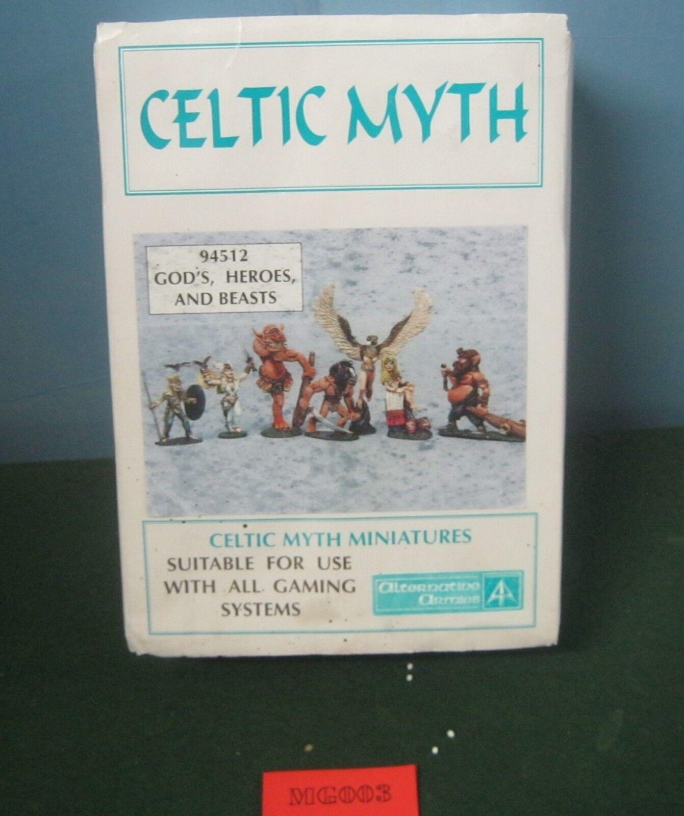 Alternative Armies celtique Mythe 94512 de Dieu, héros, et Bêtes en métal ref MG003