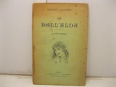CALANDRA Edoardo, La bell'Alda. Leggenda