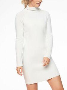 c891094725e Athleta Mesa Hybrid Sweater Dress in Dove Ivory NWT  158 M Medium