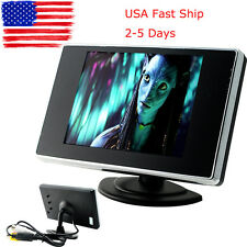 "3.5"" Car Reverse Rearview Video AV Monitor Camera LCD Color Screen 480*272 LCD"