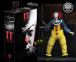 Neca-It-It-1990-Ultimate-Pennywise-Version-2-Action-Figure-New-Boxed
