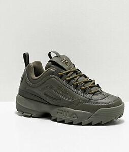 Details about NIB*Fila Disruptor II Sneaker*Size 6 10*Olive Green