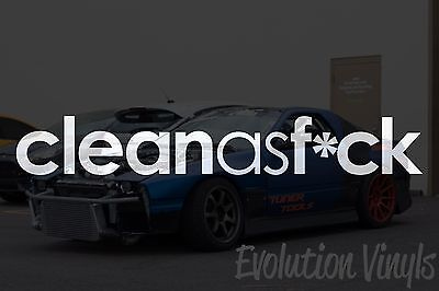 JDM Lowered Static Stance Low Drift Slammed Turbo Low as f*ck V2 Decal Sticker