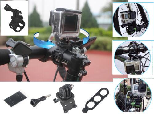 360 Liberación Rápida Universal ° Casco Para Bicicleta//Bicicleta De Montaje para GoPro