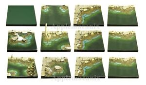NEW-Dwarven-Forge-MM-025-Cavernous-Lake-Set-D-amp-D-Dungeon-Tiles-Water-Resin-SEALED
