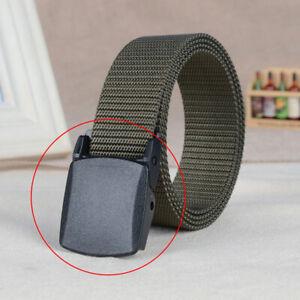 Black-Plastic-Durable-Military-Web-Belt-Buckle-1-25-034-NEW