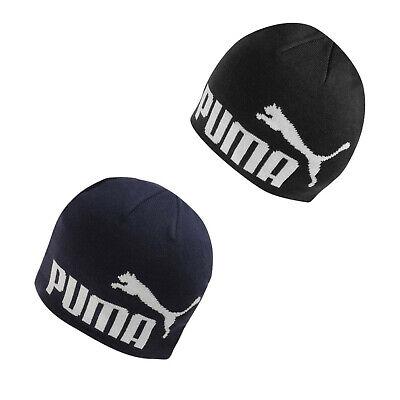 Puma Bonnet Homme Big Cat Noir Ou Bleu Marine Taille Unique 100% GENUINE BRAND NEW   eBay