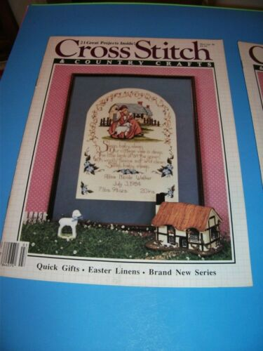 Craft Book Magazine Cross Stitch Country Crafts Magazine See Description