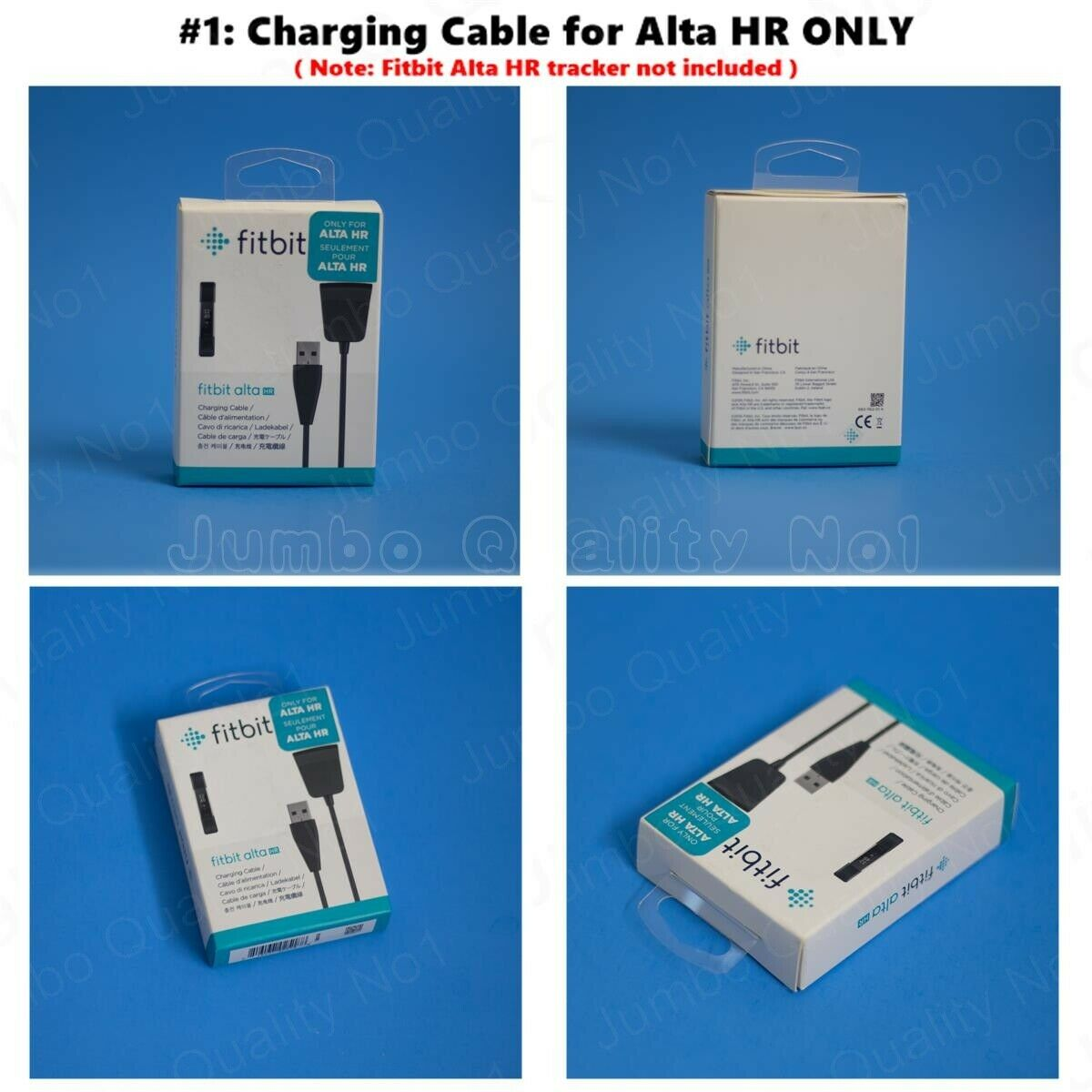 Details about NEW Fitbit Replacement Charging Cable (Alta HR, Blaze, Charge  HR, Flex) Genuine