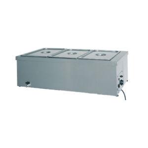 El-bano-de-agua-calentada-Tavola-calda-de-cocina-en-acero-inoxidable-4-GN-1-1-RS