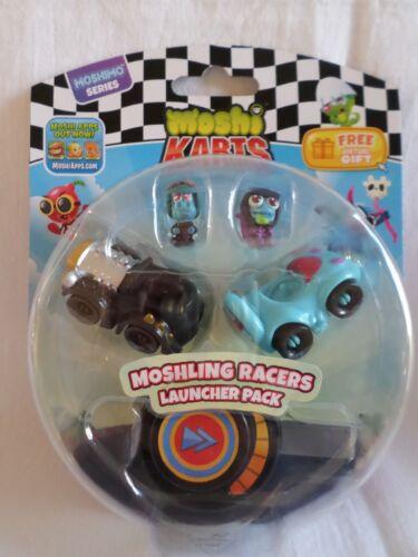 Moshi karts moshimo série moshling coureurs Launcher Pack Moshi et voitures