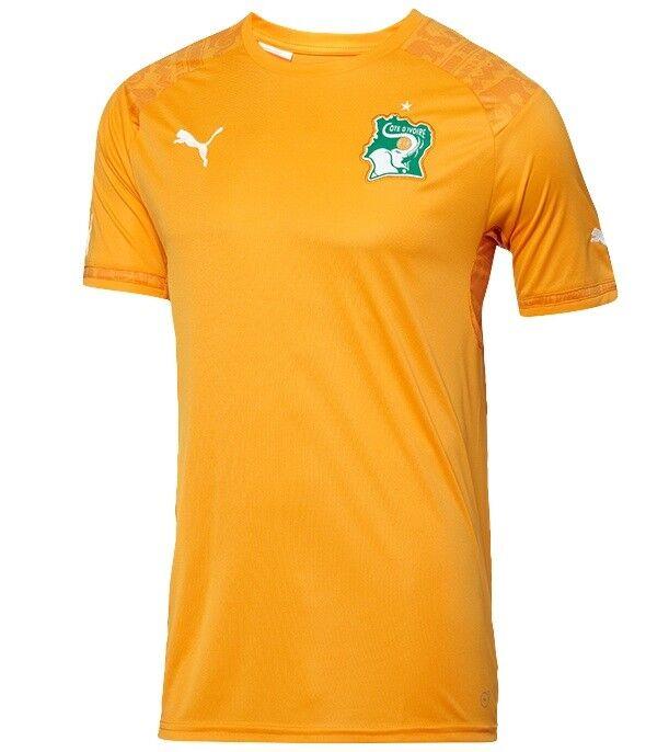 Costa de Marfil 2014 15 Hogar o lejos (M, L, XL, 2XL) Fútbol Fútbol Puma Camiseta Jersey.