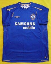 5/5 CHELSEA CENTENARY 2005~2006 ORIGINAL FOOTBALL SOCCER SHIRT JERSEY UMBRO