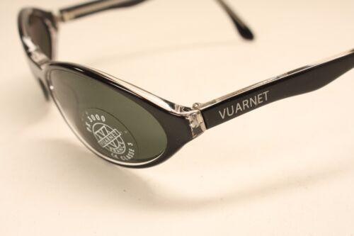 e442dfb048 ... NEW Vintage Vuarnet Sunglasses PX3000 Lens Black Crystal Nylon Frame  075 NWT
