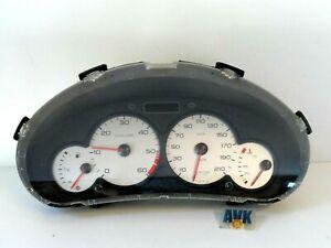 Kombiinstrument-Tacho-9651740280-Diesel-Peugeot-206-CC-2A-C-SW