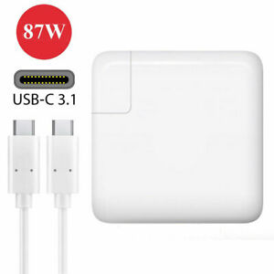 New Genuine Original OEM  A1719 87W USB-C Power Adapter Charger MNF82LL//A USA