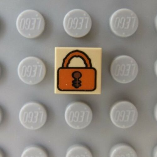 LEGO Harry Potter Tile 1 x 1 with Padlock Pattern 7785 4766 3825 4753