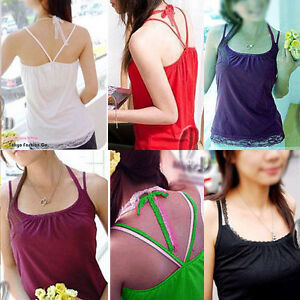 AU-SELLER-Lace-Cotton-Singlet-Sleeveless-Tank-Top-t001