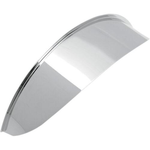 Drag Specialties 7 inch Chrome Steel Headlight Visor For Harley Davidson