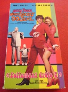 VHS-Movie-Austin-Powers-Agent-Secret-00-Sexe-Version-Francaise