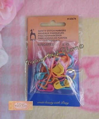 KnitPro Hard Stitch Ring Markers Pack of 50