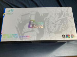 All-in-one CPU cooler with ASUSTek Aura Sync ROG STRIX LC 360 RGB GUNDAM Edition
