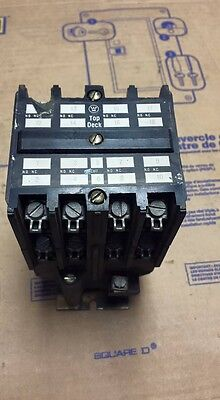 Westinghouse Electric AR880A//766A031G01 Relay 8 Pole w// Contact Adder  USED
