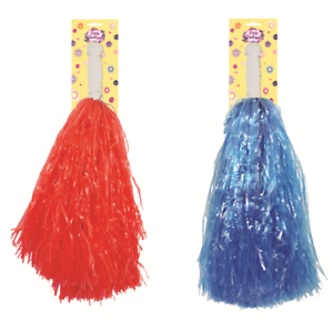 5/10/15/20 Assorted Cheerleader Pom Poms Kids Fun Toy Cheer Leaders - 2 Colours