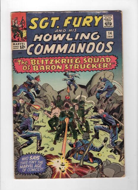 Sgt. Fury #14 (Jan 1965, Marvel) - Good