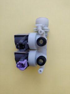 100% Véritable Machine à Laver Hotpoint Wmd942 Inlet Valves. Utilisé & Fonctionnel-afficher Le Titre D'origine 1hchliku-10103113-987284333