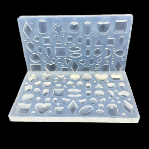 Creative Polymer Clay Silicone Mold Resin Epoxy Jewelry Making Tool for Home 1PC