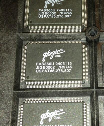 Qlogic FAS366U OEM parts PQFP128 Fast Architecture SCSI Processor