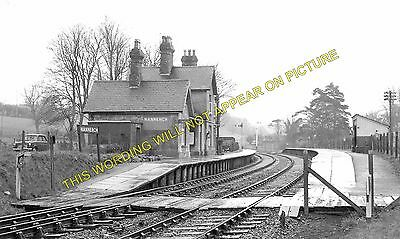 Nannerch Star Crossing Railway Station Photo Rhydymwyn 1 Mold to Denbigh.