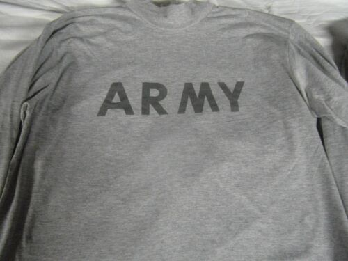 Army Physical Training PT IPFU STANDARD REFLECTIVE LONG SLEEVE SHIRT ALL SIZES