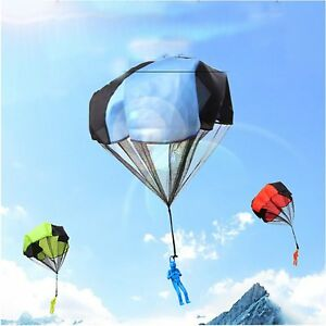 Hand-Throw-Mini-Play-Parachute-Kids-Toy-Soldier-Outdoor-Sports-Children-Toy-Gift