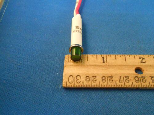 2191L5-24V 1//2 WATT LIGHT INDICATOR 2-WIRE LEAD NEW OLD STOCK