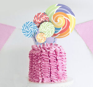 Surprising Purearte Cute Birthday Cake Topper For Kids And Baby Shower Cake Funny Birthday Cards Online Eattedamsfinfo