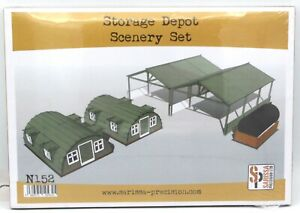 Sarissa Precision COVERED STORAGE SHED 28mm MDF Building Terrain N148